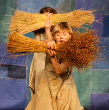Len przedstawienie dla dzieci Teatr Atofri