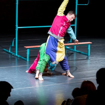 Do góry nogami Teatr Atofri przedstawienia dla najmłodszych