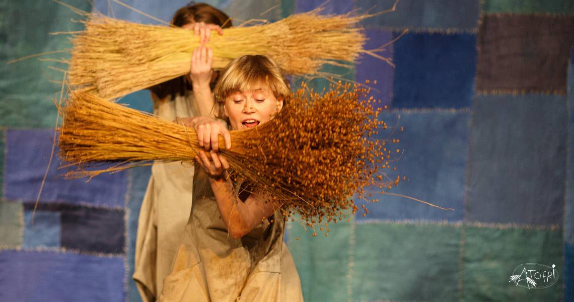 Len na Festiwalu Sztuki dla Dzieci Hurra! Art!