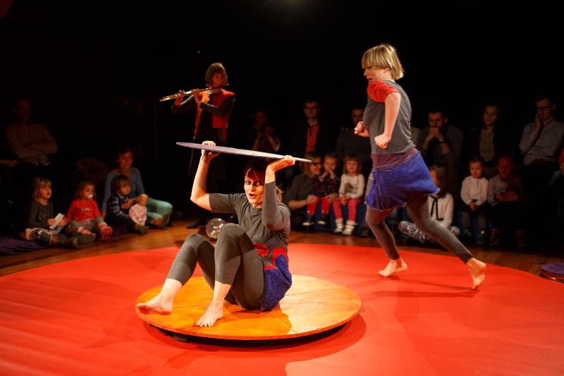 Grajkółko spektakl Teatru Atofri