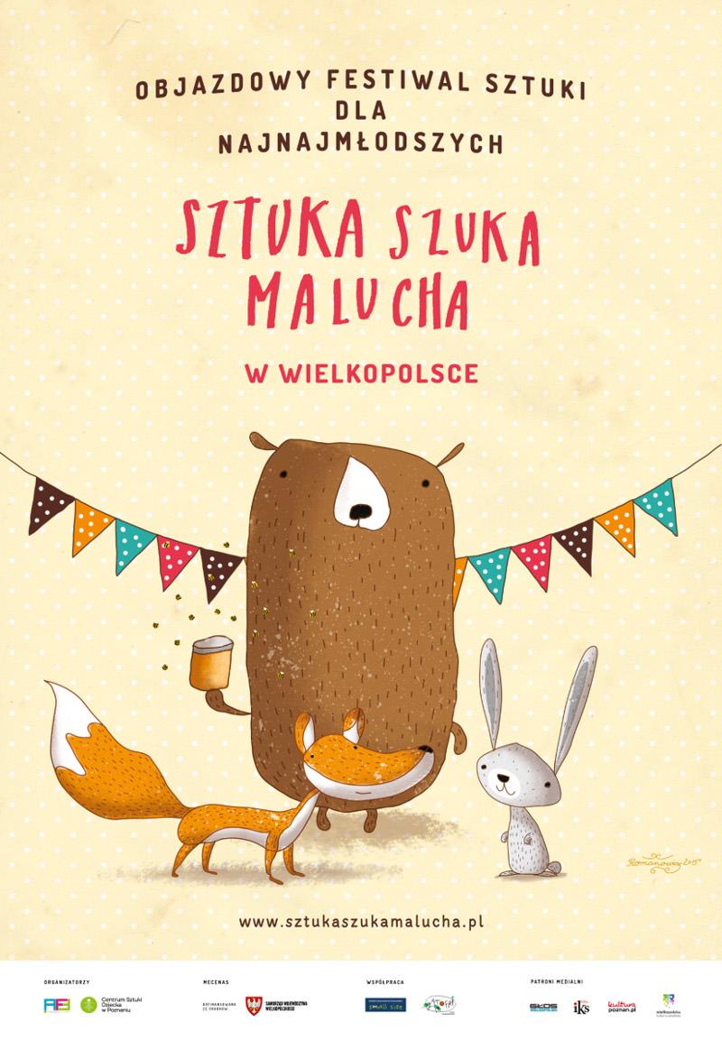 Sztuka szuka Malucha Wielkopolska Teatr Atrofri