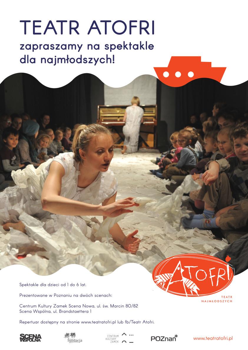Teatr Atofri spektakle dla przedszkoli