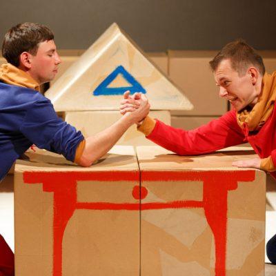 Stół - ciuchcia - miś Teatr dla najmniejszych