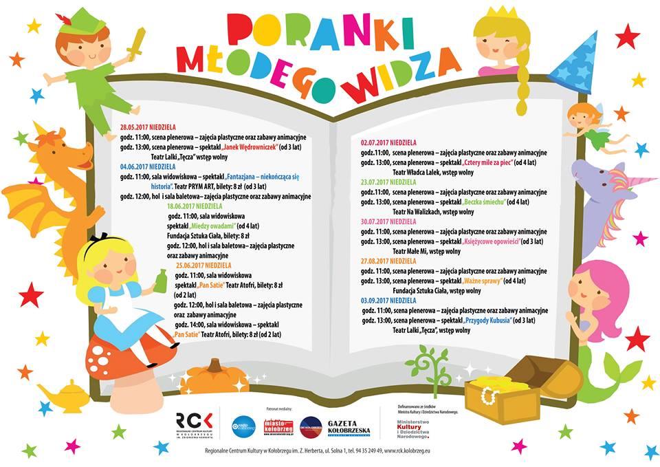 Poranki Młodego Widza Kołobrzeg Teatr Atofri