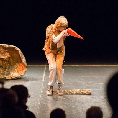 Ptasi baj plenerowy spektakl na scenie
