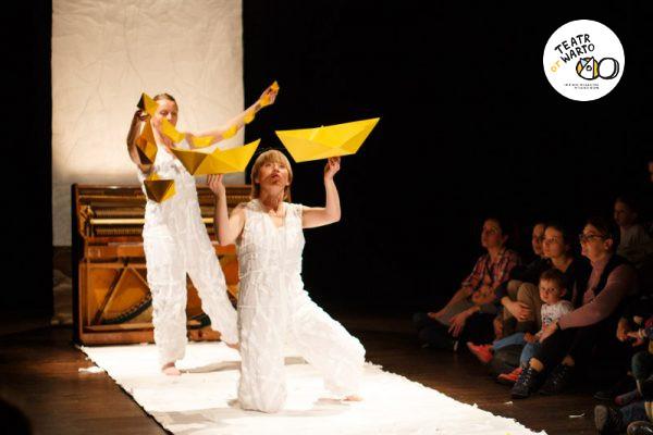 Teatr otWARTO Pan Satie Teatr Atofri spektakl integracyjny dla dzieci